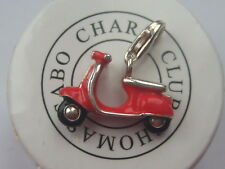 New genuine Thomas Sabo red moped scooter charm RRP £55