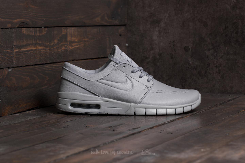 Nike SB Stefan Janoski Max L - Sz8 / US 9 - 685299-012 - Gris