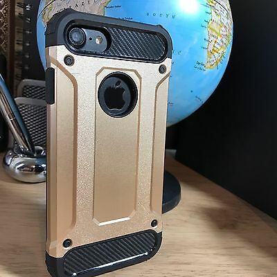 SchöN Apple Iphone 8 Case Uec Rugged Reinforced Shell Metal Gold Free Shipping