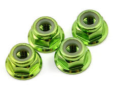 Traxxas 4mm Green Anodized Flanged Nylon Locking Nut TRA1747G