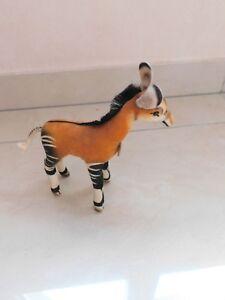 Steiff Stofftier Zirkus Oder Tiere Wild Selten Petit Okapi FüR Schnellen Versand Antikspielzeug Sonstige