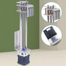 Slide Table Z Axis Slide Milling Linear Motion Guide Rail 150mm For Cnc Engraver
