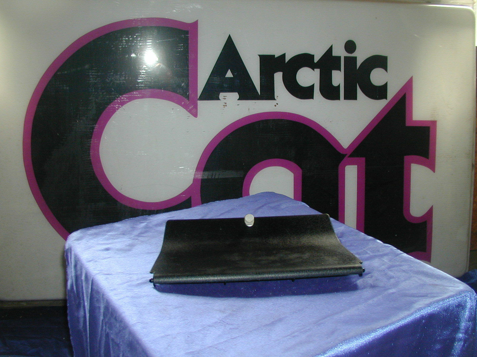 Arctic Cat Toolbox Console Door, Lid '73 Panther NOS Vintage
