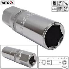 Silverline Doppelsechskant-Steckschlüssel lang metrisch 3//8-Zoll-Antrieb 8 mm