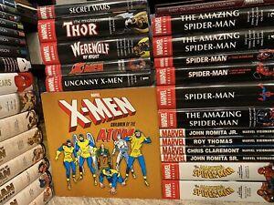 Graphic-Novel-Mega-Lot-Omnibus-Absolute-DC-Marvel-150-Titles-Spider-Man-Batman