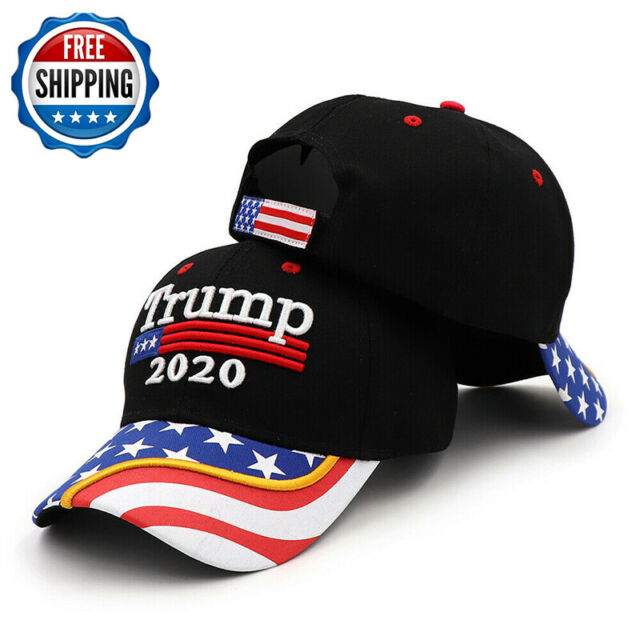 Donald Trump 2020 Flag Keep Make America Great Cap President Election Hat Win Ty