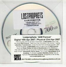 (GT958) Lost Prophets, 4 AM Forever - 2007 DJ CD