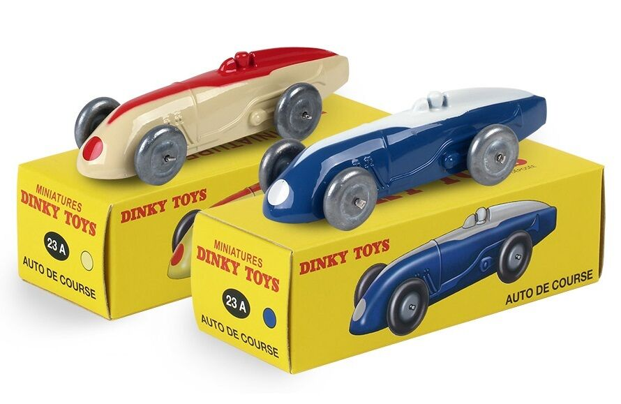 AVAILABLE DINKY TOYS ATLAS 2 AUTO RACE 1 43 REF 23 IN A BOX CHRISTMAS 2015