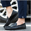 Fashion-Leather-Men-039-s-Casual-Shoes-Breathable-Antiskid-Loafers-Moccasins thumbnail 2