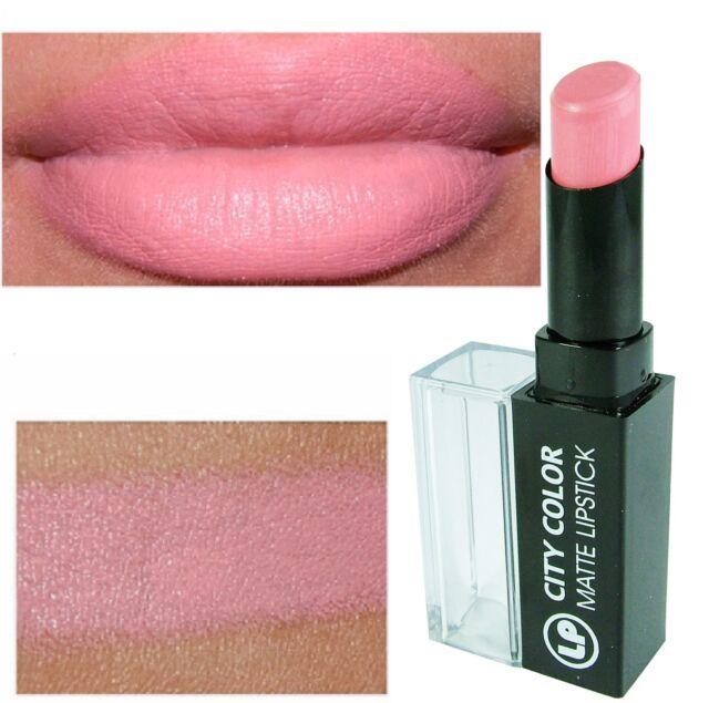 City Color Matte Lipstick 'No. 6 Soft Pink' SEALED