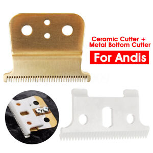 2pc-T-outliner-Replace-Ceramic-Cutter-Premium-Blade-Mod-For-Andis-Electric-Shear