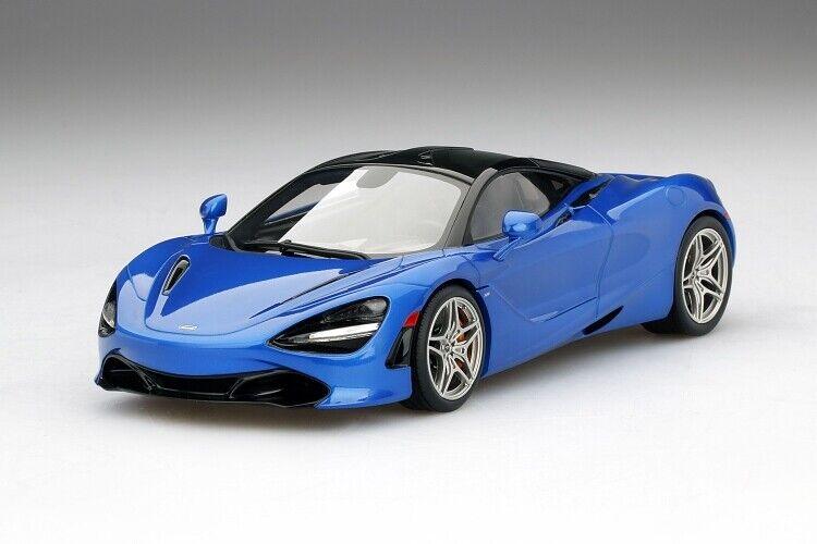 McLaren 720 S in Aurora Bleu à l'échelle  1 18 par hautspeed  prix équitables