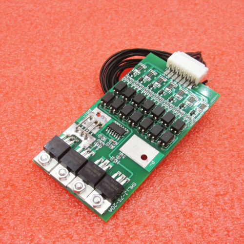 7s Cells 20A 24V W//Balancing Li-ion Lithium 18650 Battery BMS Protection Board