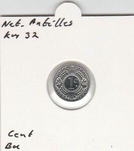 Netherlands-Antilles-1-cent-1991-BU-KM32