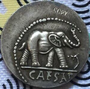 Ancient-Roman-Republic-JULIUS-CAESAR-49-B-C-Denarius-CAESAR-elephant-coins