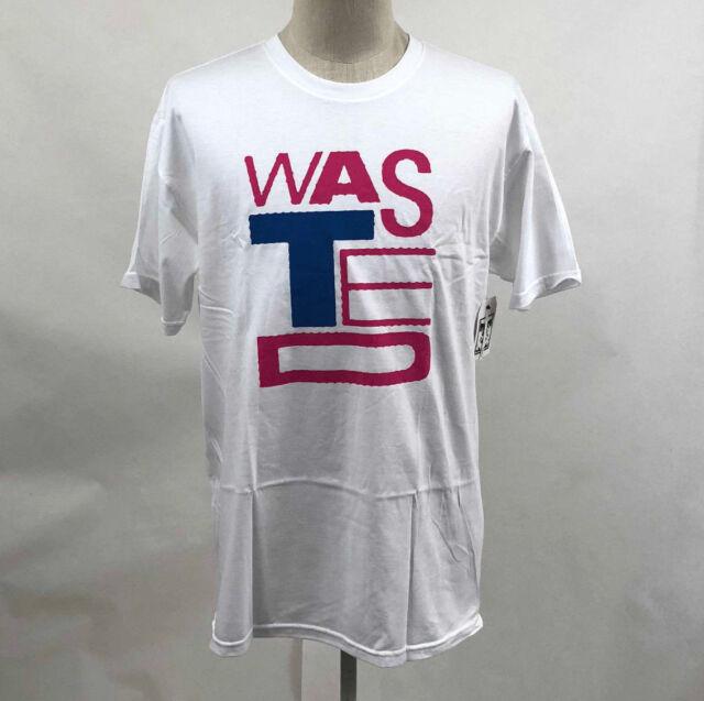 grande remise de 2019 prix Vente de liquidation 2019 OBEY Men's T-shirt Wasted Youth White Size XL Shepard Fairey