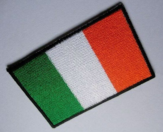 IRELAND IRISH Éire NATIONAL FLAG Sew on Patch Free Postage