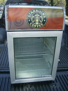 Starbucks Commercial Cooler Refrigerator Man Cave