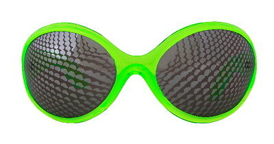 Sci-Fi Cosplay Insect Eyes Style Creepy Crawler Green Glasses, NEW UNWORN