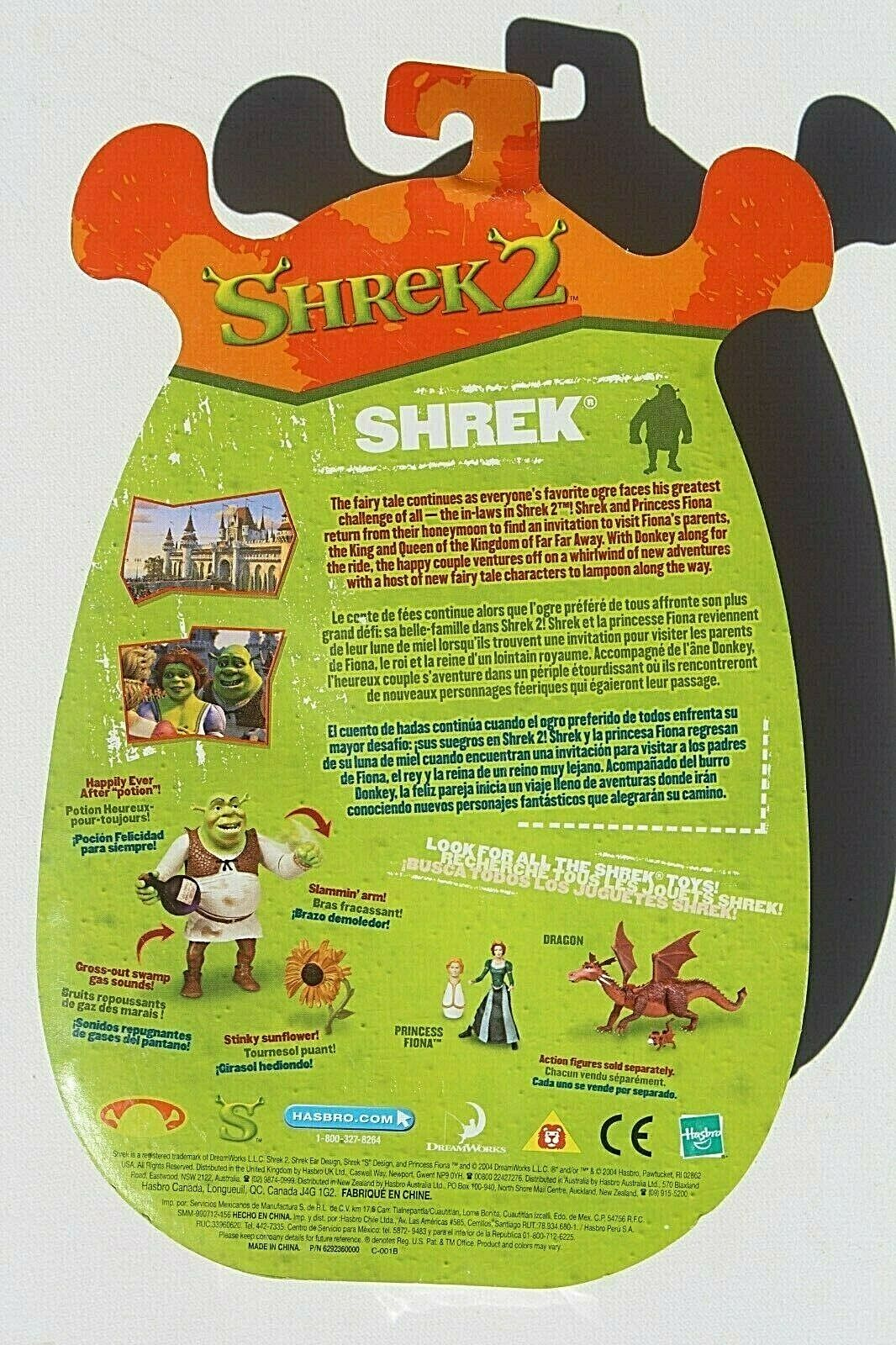 2004 Shrek 2 Stinky Sunflower Happily Ever After Potion Action Figure For Sale Online Ebay