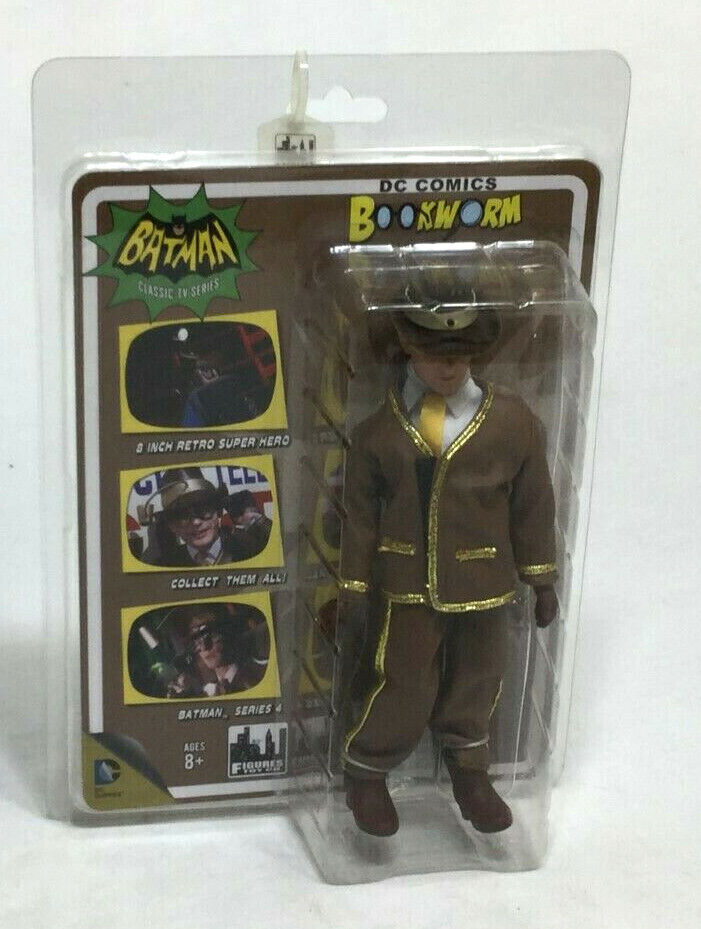 DC Comics 1966 TV Batman Worlds Greatest Heroes Bookworm Figures Figures Figures Toy Company c28ec3