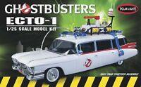 Polar Lights PLL 1 25 Ghostbuster Ecto-1 Snap Model Kit PLL914 POL914 Toys