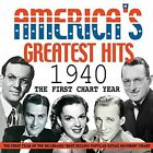 America's Greatest Hits 1940 - The First Chart Year Various Artists Audio CD