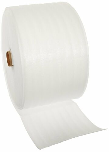 """Foam Wrap Roll 1//4/"""" x 50/' x 12/"""" Packaging Perforated Micro 50FT Perf Padding"""