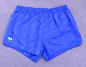 ERIMA-Vintage-Nylon-Shiny-Fussball-Running-Retro-80s-90s-Shorts-Sprinter-d8-XL