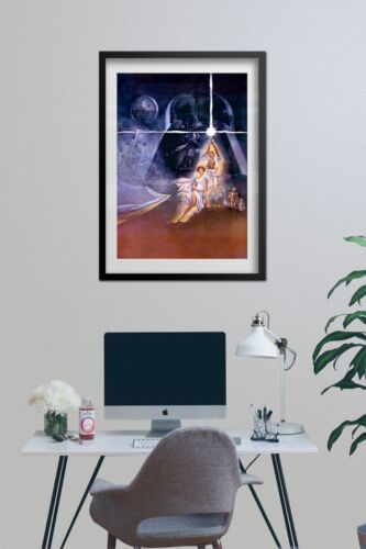 Theatrical Official Art Star Wars A New Hope Poster High Quality Prints
