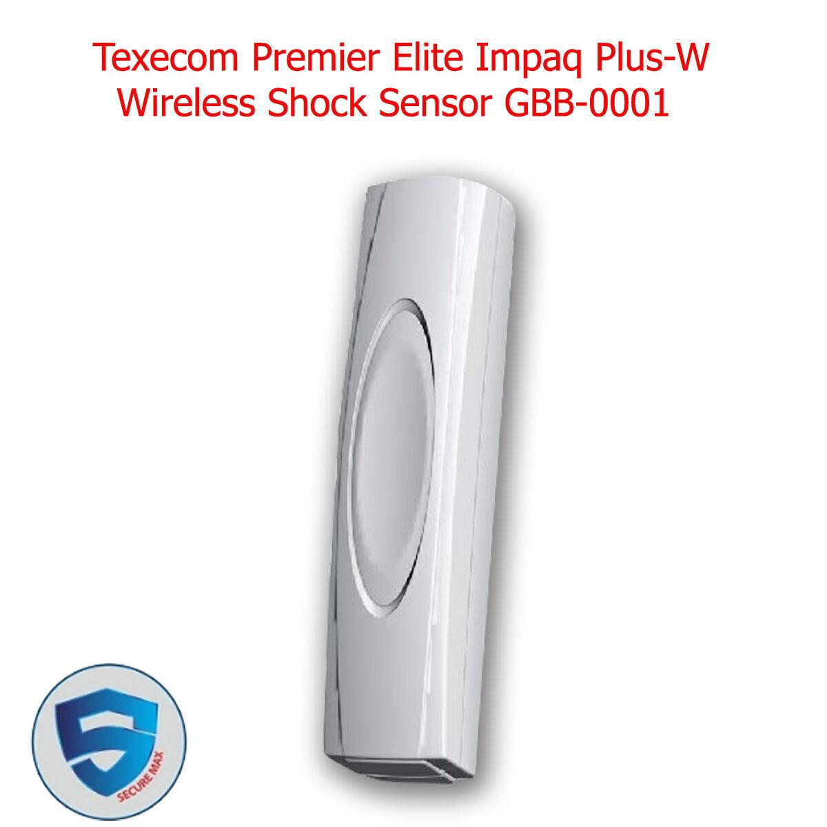 TEXECOM DETECTOR SHOCK IMPAQ PLUS PREMIER WHITE AEB-0001
