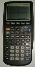 CALCULATOR TI 83 TEXAS INSTRUMENTS TESTED AND BONUS NEW USB GRAPH LINK CABLE