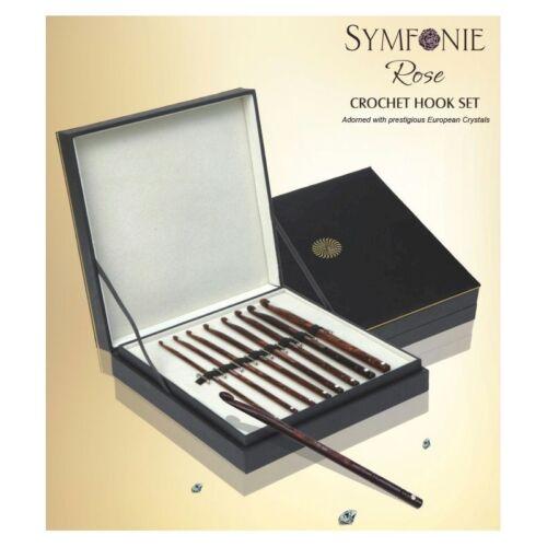 KnitPro Symfonie Rose Crochet Hook Deluxe Set