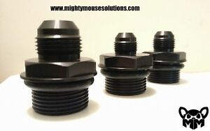 Details about -AN oil fill adapter for Holley LS valve cover 8 AN
