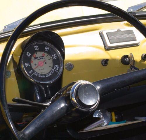CLASSIC FIAT 500 F R SPEEDO SPEEDOMETER GLASS Km//h. ROUND SPEEDO BRAND NEW