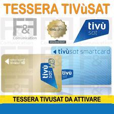 SCHEDA TIVU' SAT HD SMART CARD TIVU' SAT NUOVA HD