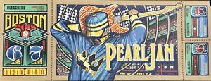 Pearl-Jam-boston-poster-fenway-park-brad-klausen-2018-tour-pj-new