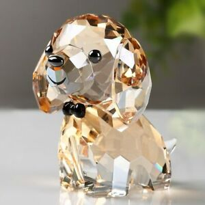 Crystal Puppy Glass Dog Figurine Crystal Dog Figurine Gift Collectibles