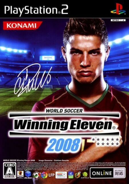 Ps2-Pro Evolution Soccer 2008/World Soccer Winning Eleven 2008 JAP seulement CD