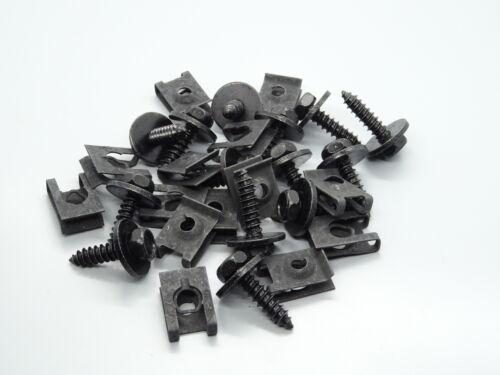 1x bajo protección de conducción conjunto de instalación clips kit reparación para bmw 3er e36 z3