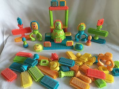 Parents Bristle Blocks Large 68 Piece Lot
