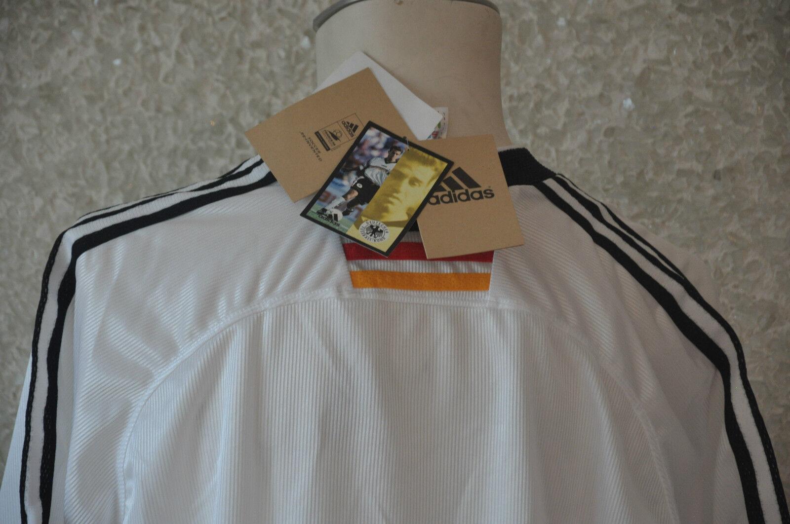 Deutschland Deutschland Deutschland Trikot Gr. LAdidas WM 1998 Nationalmannschaft DFB Weltmeister EM a5e776