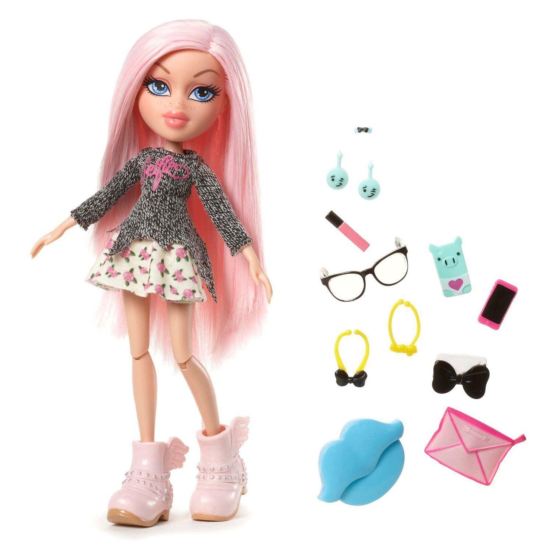 Bratz Bratz Selfie Snaps Cloe Doll Selfie Snaps Glasses Plush Hat Earrings...NEW
