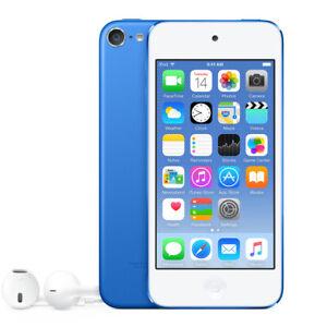 Apple-iPod-Touch-6-Generation-Blau-Blue-32GB-MKHV2BT-A-NEU-NEW-Sealed-6th-6G