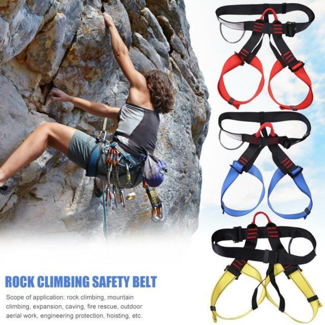 Outdoor Sports Rock Climbing Harness Waist Support Half Body Safety Belt Harness