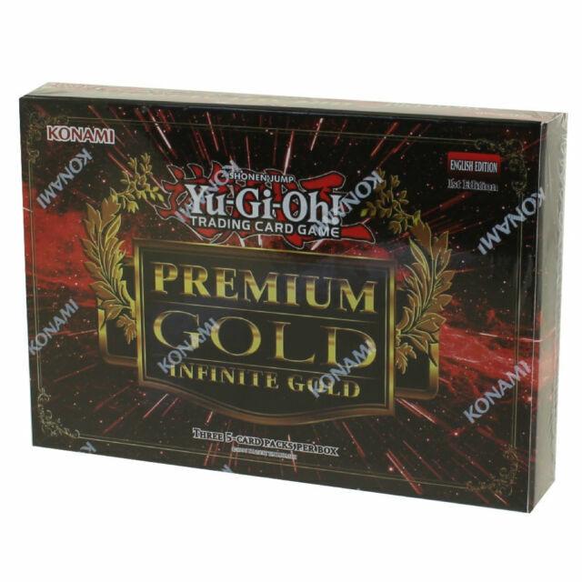 Yu-Gi-Oh Premium Gold Infinite Gold 1st Edition English version
