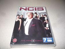 NCIS THE THIRD SEASON DVD BOX SET 7 DISCS BRAND NEW AND SEALED