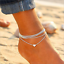 Fashion-Love-Heart-Ankle-Bracelet-Foot-Chain-925-Silver-Women-Beach-Anklet-Gifts thumbnail 2