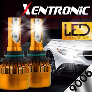 XENTRONIC-LED-HID-Headlight-kit-9006-White-for-1992-1999-GMC-K1500-Suburban