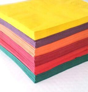 100 x 3 lagige papierservietten duni servietten 40cm auswahl an farben ebay. Black Bedroom Furniture Sets. Home Design Ideas